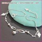Little Leaf Silver (925 Sterling) Bracelet, Bracelets, Sterling Silver