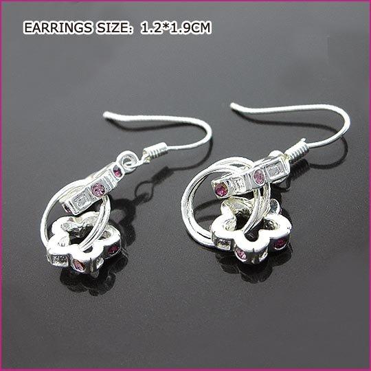 Lucky Flower Pierced Earrings, Pierced earrings, Earrings