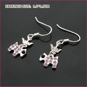 Little Sheep Pierced Earrings, Pierced earrings, Earrings