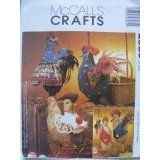 McCall's Crafts 2826 Pattern Roosters & Hens