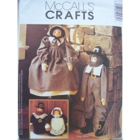 McCall's Crafts 2943 Pattern Pilgrims