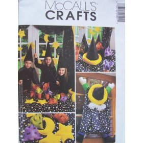 McCall's Crafts Pattern 2990 Wizard Party