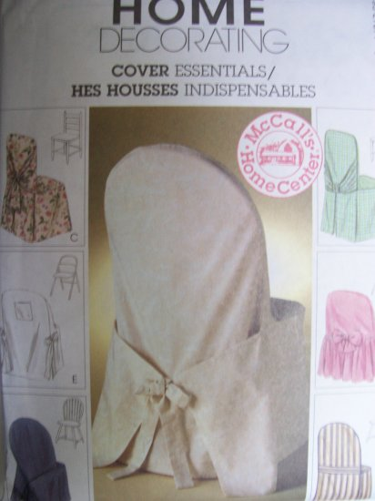 McCall's Home Decorating Pattern 2787 Cover Essentials
