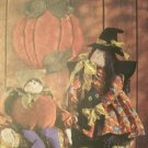 McCall's Crafts Pattern 3428 Witch Doll, Pumpkin Elf And Wall Hanging