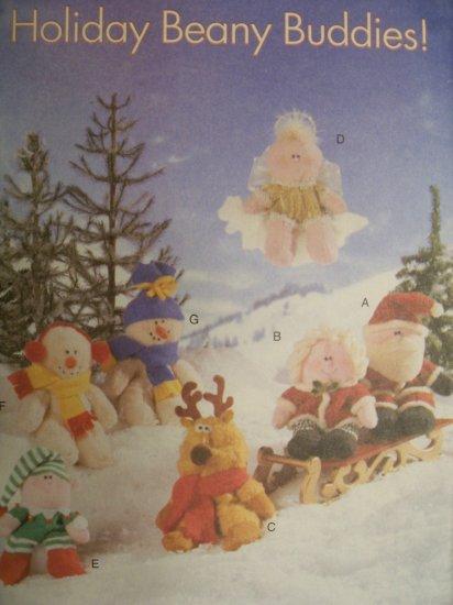 Butterick Pattern 5731 Holiday Beany Buddies!