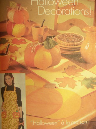 Butterick Pattern 5664 Halloween Decorations