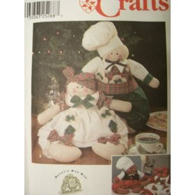 Simplicity Crafts Pattern 9880 Gingerbread People