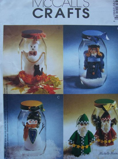 Mccall's Crafts Pattern 2946 - Snow Jars