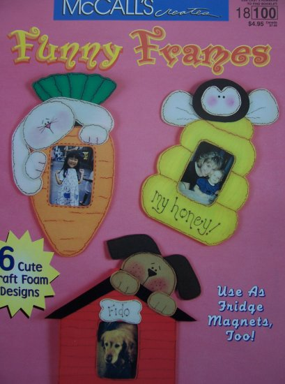 McCall's Creates Booklet - Funny Frames