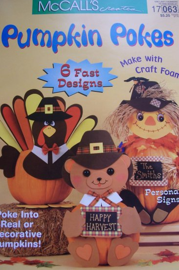 McCall's Creates Booklet - Pumpkin Pokes