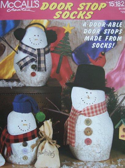 McCall's Creates Booklet - Door Stop Socks