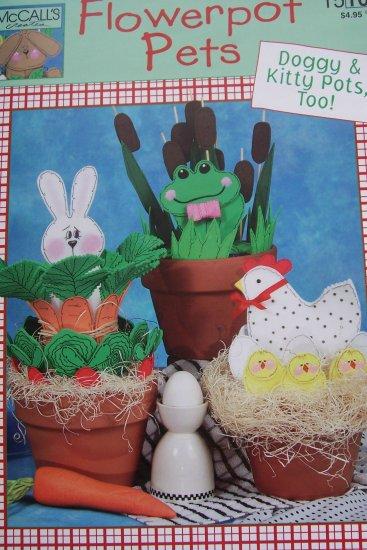 McCall's Creates Booklet - Flowerpot Pets