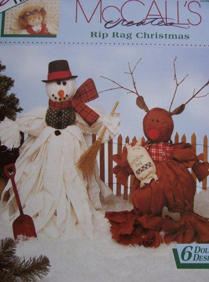 McCall's Creates Booklet - Rip Rag Christmas