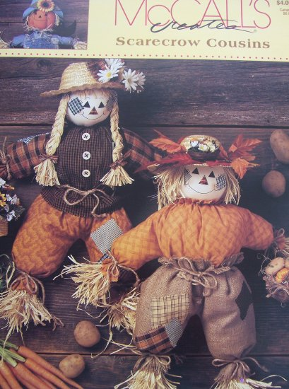 McCall's Creates Booklet - Scarecrow Cousins