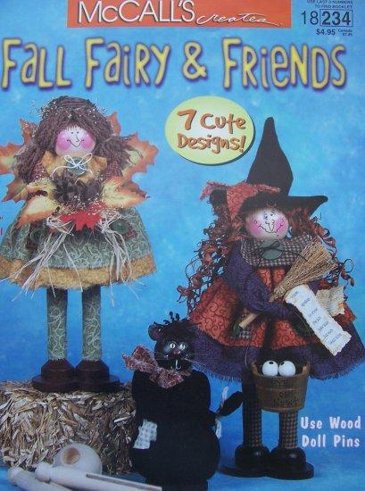 McCall's Creates Booklet - Fall Fairy & Friends