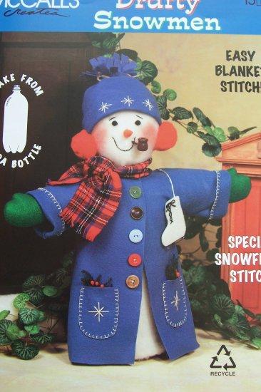 McCall's Creates Booklet - Drafty Snowmen