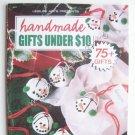 Handmade Gifts Under $10
