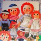 Simplicity Pattern 9447 Raggedy Ann & Andy