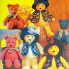 Simplicity Crafts Pattern 5461 Bears With Accessories
