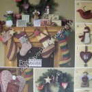 McCall's Crafts Pattern 4990 Fat Quarters Christmas Items