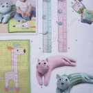 Simplicity Pattern 2389 Booster Pillow, Baby Blocks, Play Matt & Growth Chart
