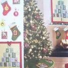 Simplicity Pattern 2488 Christmas Decorations - Wall Hanging, Treeskirt, Stocking, Ornament