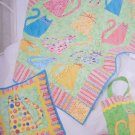 Simplicity Pattern 2575 Quilted Accessories - Quilt or Wall Hanging, Pillow, Tote