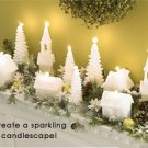 Village of Lights 5 Piece Candle Village Christmas Decor