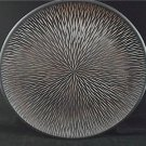 Unique Riveting Home Decor 15.75 Inch Round Wood Platter