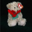 Ty Beanie Baby Original 2005 Holiday Teddy w/red Flower