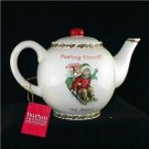 Collector's Winter Scene Sledding 'Days Gone By' Teapot