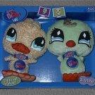 Littlest Pet Shop VIPs Bonus Set of 2 Duck & Bird NIB
