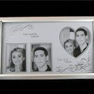Photo Frame 2 Hearts Together 1 Love Forever