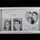 Photo Frame 2 Hearts Together 1 Love Forever