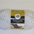 Impeccable Worsted Acrylic Yarn 128g 4.5 oz Grey Marle 01043