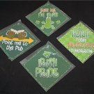 """St Patrick's Day Irish for a Day Set of 4 - 5"""" Signs"""