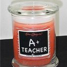 Gift for Teacher A+ Teacher Fresh Peach Candle