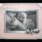 Baby Girl Gift Boxed Pink Photo Picture Frame Keepsake