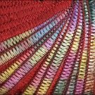50% Discount on Yarn Beach by Filati FF Italian Ribbon #4011 Red Multi