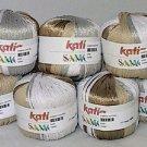 Katia Samoa Tan Gold White Silver Yarn (#7600)