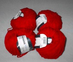 50% Discount on Lana Grossa Salina Yarn Red (#019)