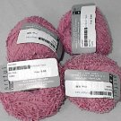50% Discount Artful Pastry Cotton Blend Ribbon Yarn Strawberry Rhubarb Pie (Rose) (#512)