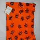 Halloween Black Cat Reusable Trick or Treat Fabric Bag Tote Gift Bag