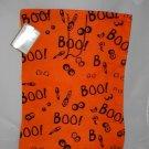 Halloween Boo Reusable Trick or Treat Fabric Bag Tote Gift Bag
