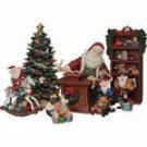 Living Home Exquisite Porcelain 8 Piece Christmas Set