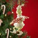 Lenox Collectible Dr. Seuss Grinch's Sweet Steal Ornament