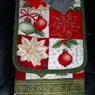 5 Piece Christmas Themed Kitchen Textile Set