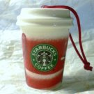 Starbucks 2010 Christmas ltd Edition Hot Mug Ceramic Ornament