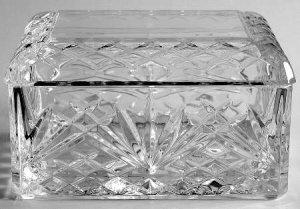 Cris D'Arques J.G. Durand Villemont 24% Lead Crystal Trinket Box