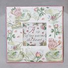Lady Jayne Ltd Tea and Roses Endearment Message Frame
